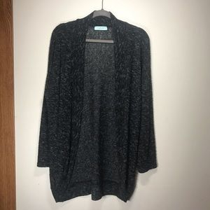 CHRIS & CAROL Long Sleeve Open Cardigan, Size M